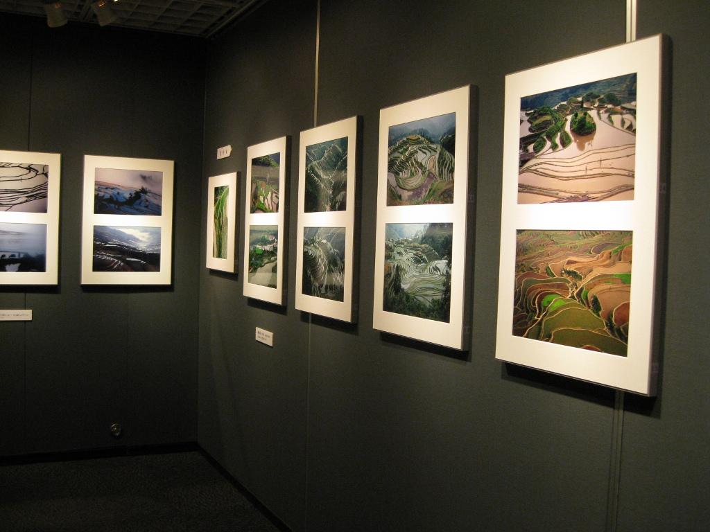 森公夫写真展「梯田-通天之路」フォトギャラリーシリウス」