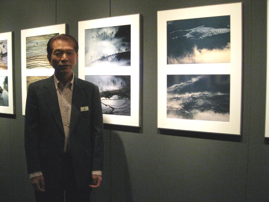 森公夫写真展「梯田-通天之路」フォトギャラリー「シリウス」