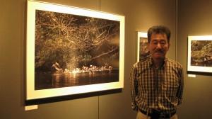 仙葉烈写真展「おしどり百景」